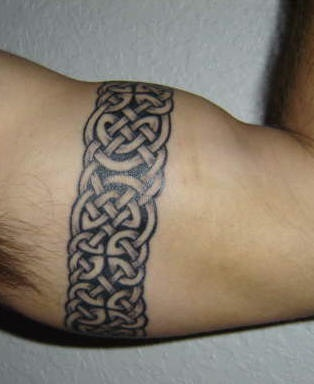 Celtic style arm band