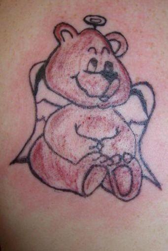 orso angelo tatuaggio