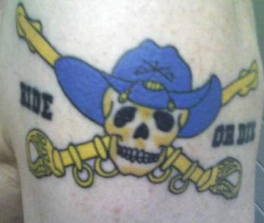 Ride or die biker tattoo