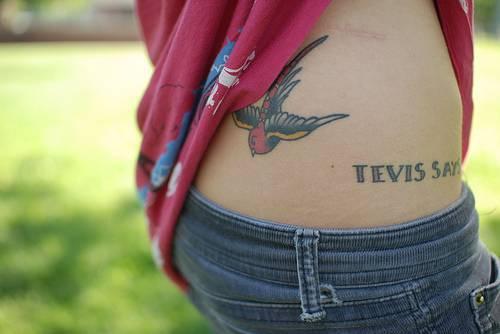 Regular sparrow tattoo