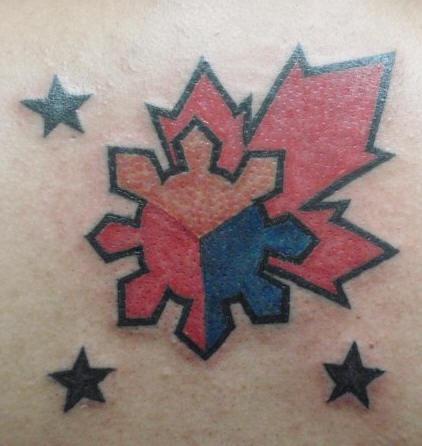 Canadian symbols tattoo for Irish canadian tattoos