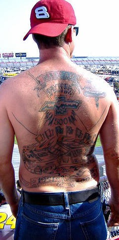 Fan Tattoo Von Chevrolet Rennwagen Tattooimages Biz