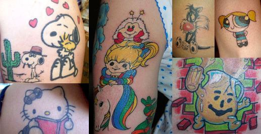 Cartoon network classic characters