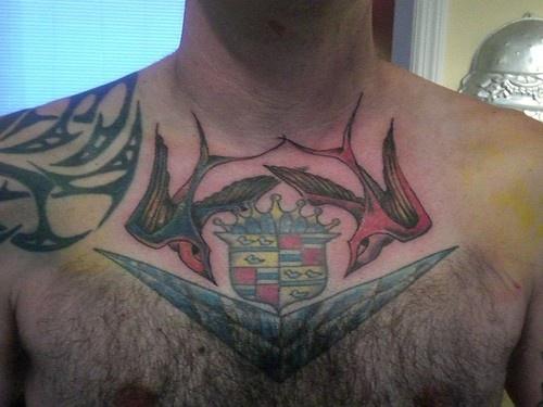 Bird&quots homechest tattoo