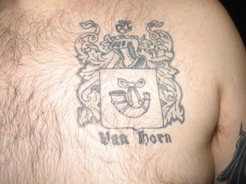 van horn emblema tatuaggio