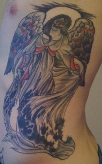 Dia de muertos she-death tattoo