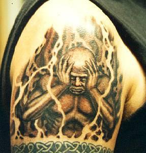 Demon in despair tattoo