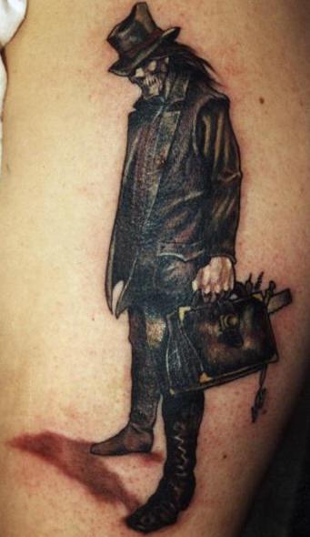 Baron samedi voodoo tattoo
