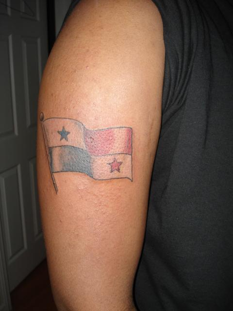 Flag tattoo