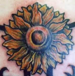 classico cirasole tatuaggio