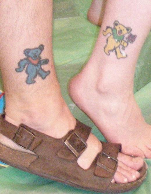 Grateful dead friendship tattoos