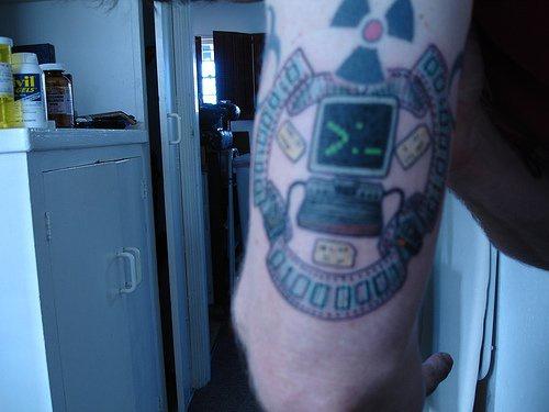 League of old school it crowd tattoo