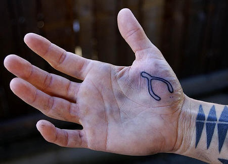 Little accurate  tool, forceps  hand tattoo