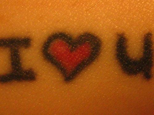 I Love You Symbols Tattoo Tattooimagesbiz