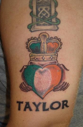 irish pride taylor tattoo. Black Bedroom Furniture Sets. Home Design Ideas