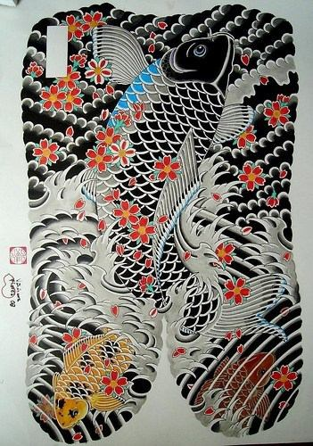 disegno giapponese yakuza tatuaggio
