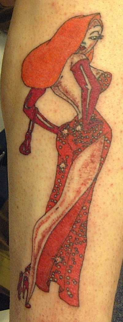 Jessica rabbit tattoo