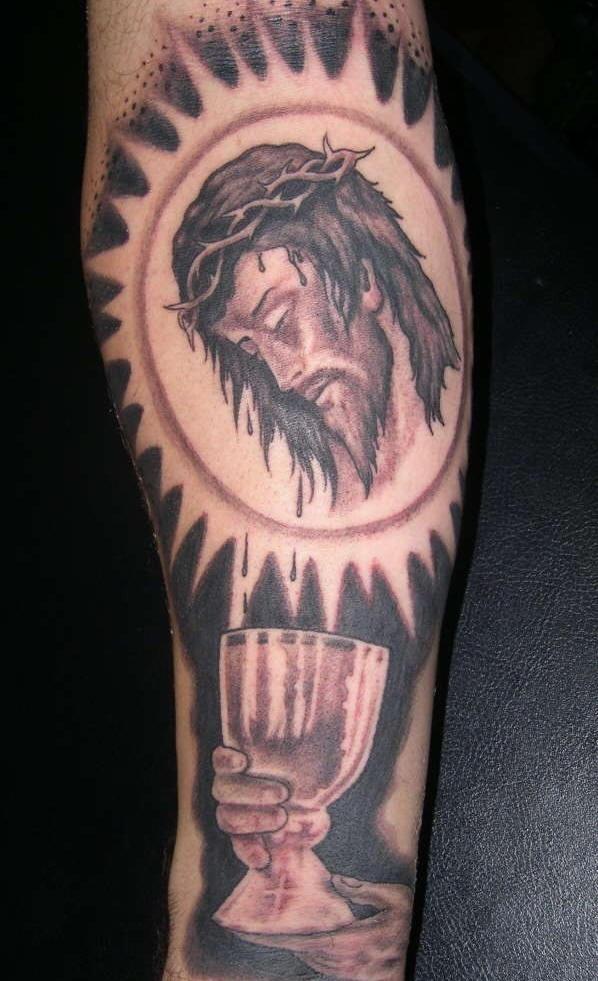 The sacrament artwork tattoo