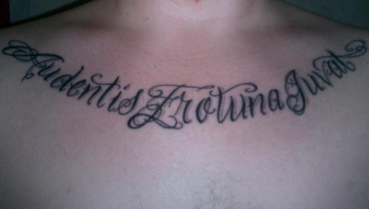 Audentes frotuna juvat fail tattoo