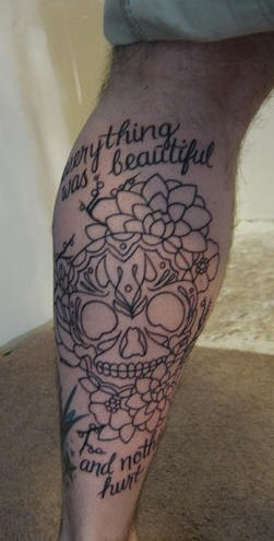 Dia de muertos skull and roses undone tattoo