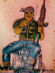 You are next killer tattoo