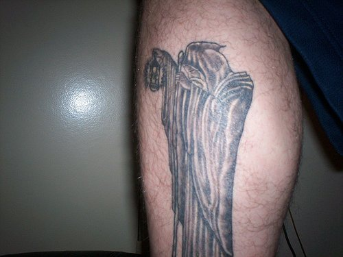 Wizard with lantern tattoo