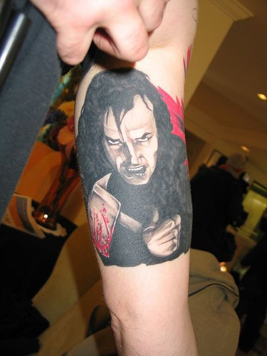 Jack nicholson from shining with hatchet