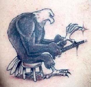 Eagle sharpen claws tattoo