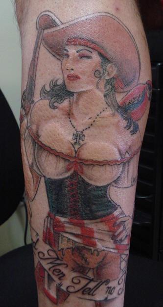 Pirata sessuale tatuaggio