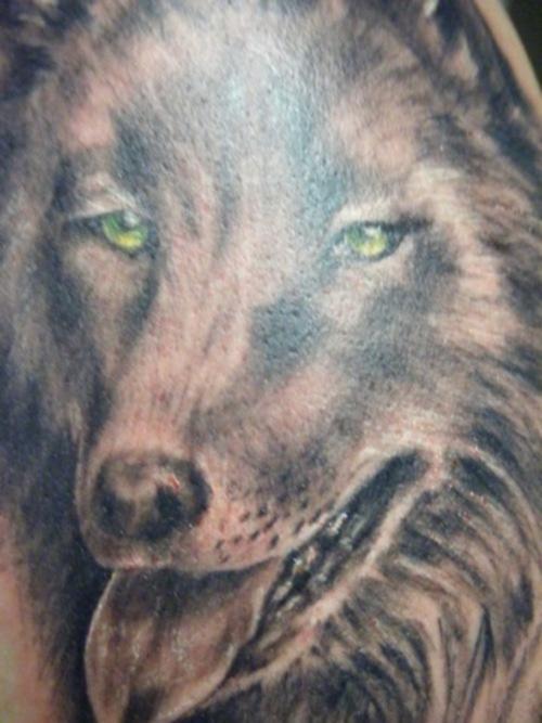 Bon Loup Le Tatouage Realiste Tattooimages Biz