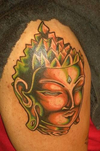 Buddha d&quotoro tatuaggio