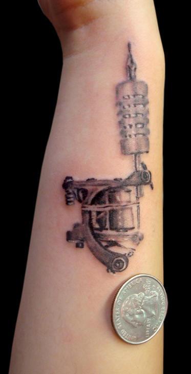 Small Tattoo Machine: Nice Realistic Gallery