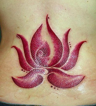Red Lotus Symbol Tattoo Tattooimagesbiz