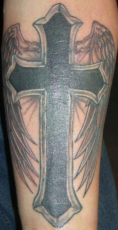 Latin Cross Tattoo 100