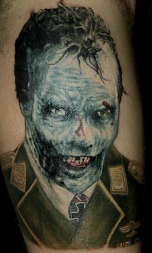 Tatouage Zombie Nazi Tattooimages Biz