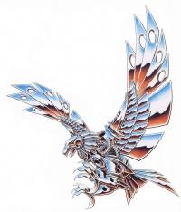 eagle tattoo designs page 10. Black Bedroom Furniture Sets. Home Design Ideas