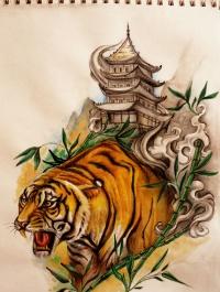 bamboo tattoo designs. Black Bedroom Furniture Sets. Home Design Ideas