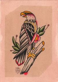eagle tattoo designs page 9. Black Bedroom Furniture Sets. Home Design Ideas