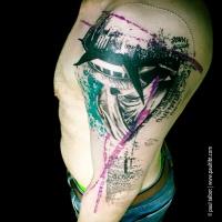 Arm tattoos pics for Huma bird tattoo