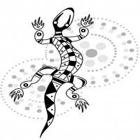 vicious tribal panther sreaming tattoo design. Black Bedroom Furniture Sets. Home Design Ideas