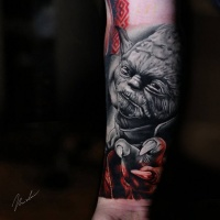 Awesome Yoda from Star Wars movie