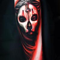 Darth Nihilus from Star Wars tattoo
