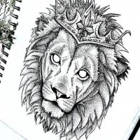 Dotwork Empty Eyed Lion In Crown Tattoo Design Tattooimages Biz See more ideas about crown drawing, crown tattoo, crown. dotwork empty eyed lion in crown tattoo