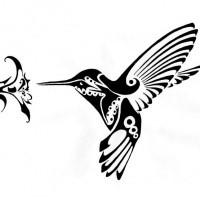 Excellent Black Tribal Hummingbird Sniffing Hibiscus Flower Tattoo Design Tattooimages Biz,Middle Class Home Furniture Design Hall
