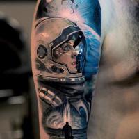 Realistic Interstellar theme tattoo3