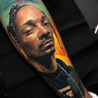 Realistic Snoop dogg tattoo3
