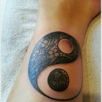 Yin-Yang Tattoo