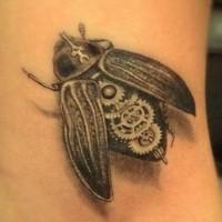 Biomechanical tattoo fly