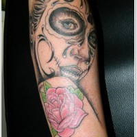 Day of the dead tattoo by craig wright