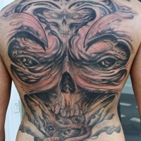 Demon freestyle backpiece by graynd